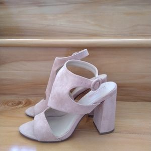 Forever 21 pink high heels size 7.5